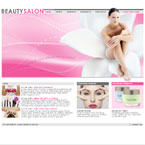 Beauty flash template