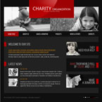 Charity foundation flash template