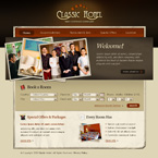 Classic hotel CSS template