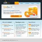 Software company CSS template