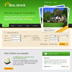 Real estate css template