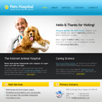 Pets hospital css template