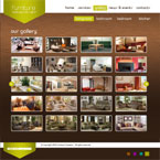 Furniture CMS flash template