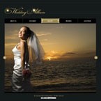 Wedding album CMS v2 flash template