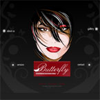 Beauty salon swish template
