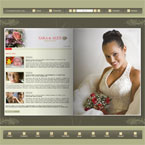 Wedding flipbook flash template
