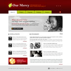 Charity CMS flash template