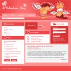 St Valentines joomla template