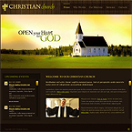 Church CMS flash template
