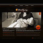 Charity XML flash template