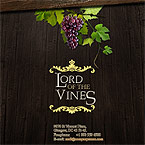 Lord of wines flash template