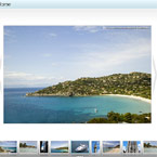 Resizable XML gallery with scroller flash component