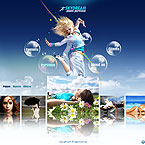 Sky photography CMS v3 flash template