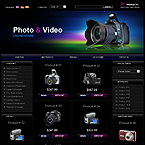 Photo and video cameras oscommerce template