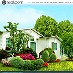 Real estate XML based full flash web template