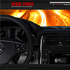 Car spare parts XML flash template