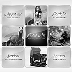 Art box photographer swish CMS template