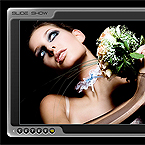 Photo Slideshow flash component