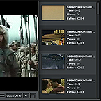 Video player flash component