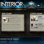 Interior Design JQuery Template