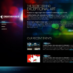 Advertising Agency JQuery Template