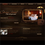 Classic and luxury hotel flash template