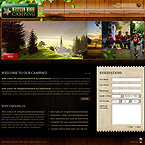Wood Camping XML gallery flash template