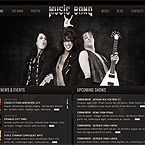 Music Band jQuery template