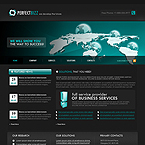 PerfectBizz business CMS flash template