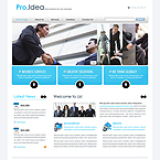 Pro Idea business CMS flash template