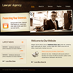 Lawyer agency CSS template