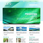 Eco protect 3D XML gallery website template