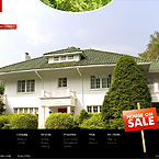 Real Estate FlashMoto CMS template