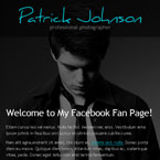 Photography Facebook template