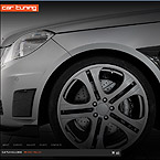 Car tunning CMS flash template