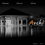 Archi design flash CMS template