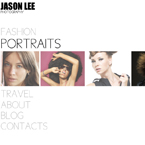 Photographer jquery gallery template