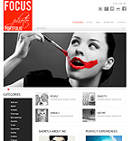 Focus art wordpress theme