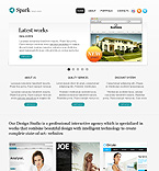 Spark design studio worpdress theme