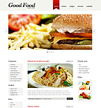 Good food wordpress slideshow theme