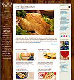 Recipes premium wordpress theme