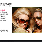 Synther photography website template
