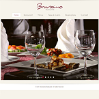 Bravissimo restaurant website template