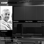 Corp Stream website template