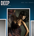 DEEP photo portfolio facebook template