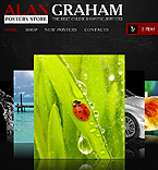 Alan graham photo facebook template