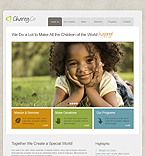 Kids joomla template