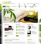 Luxury spa salon joomla