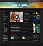 TV channel wordpress theme