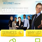 Internet Business Facebook Template